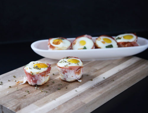 Rezept: Ham & Egg-Cupcakes