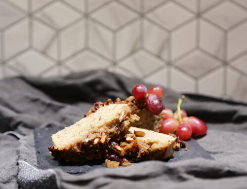 Rezept: Maroni Kuchen mit karamellisierten Pekannüssen